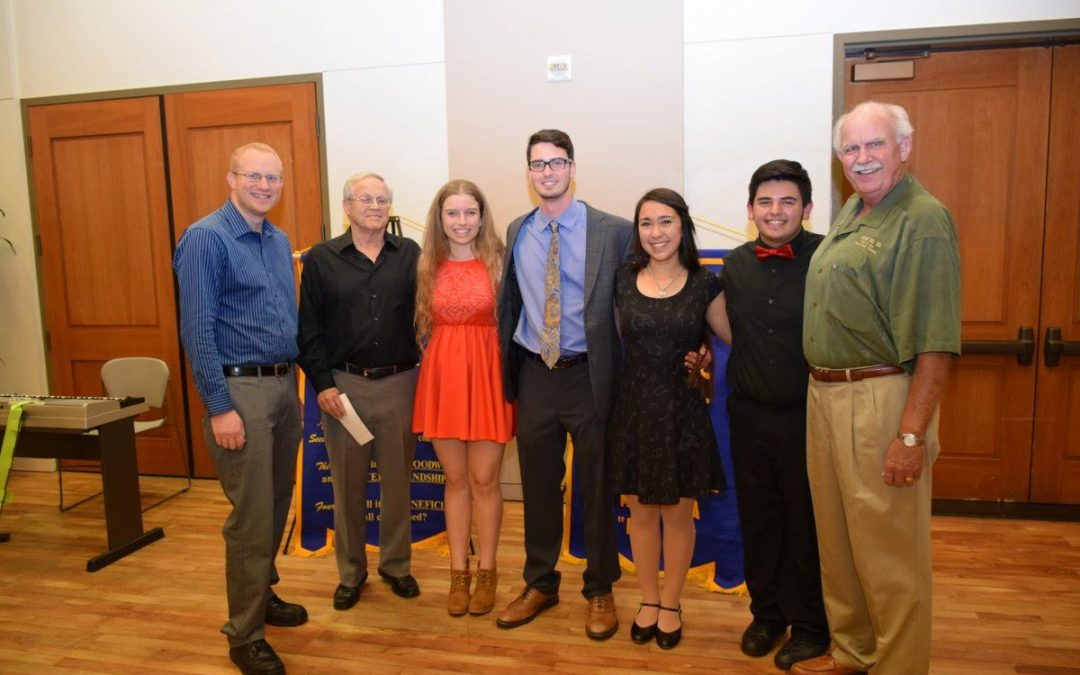 Students Place 1st in the 2016 Rotary Vocal Competition