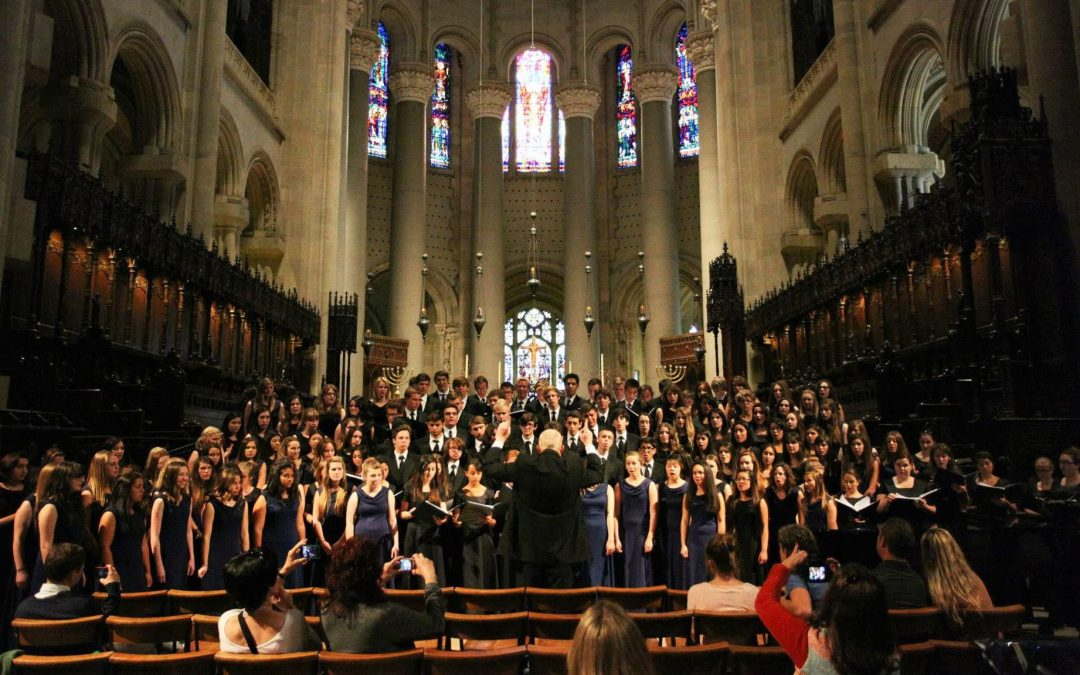 Madrigals and A Cappella perform at Carnegie Hall
