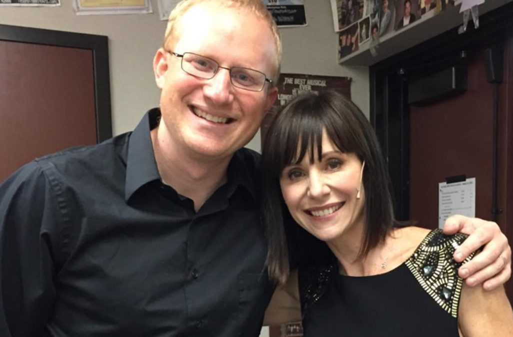 Mr. Hancock Performs with Susan Egan