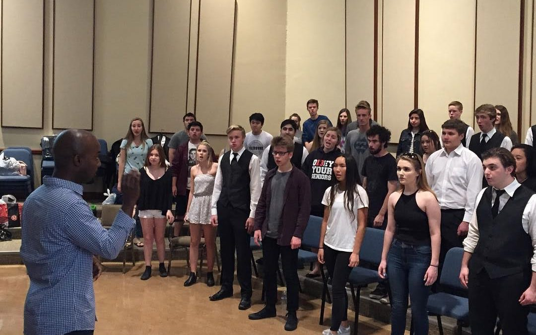 Madrigals Work with Two Award-Winning Composers